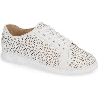 Vaneli Laren Perforated Sneaker, White