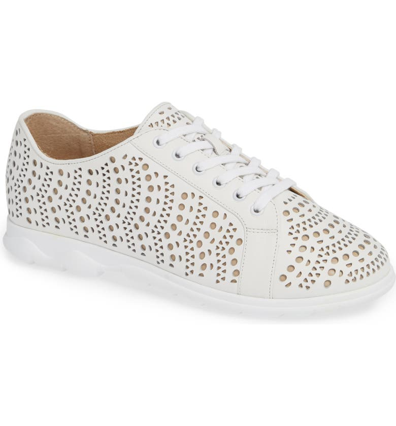 VANELI Laren Perforated Sneaker, Main, color, 100