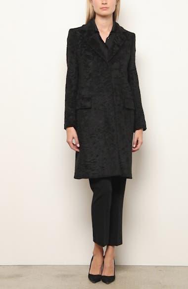 Oncia Textured Alpaca & Wool Coat, video thumbnail