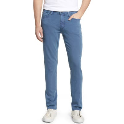 Paige Transcend - Federal Slim Straight Leg Jeans, Blue