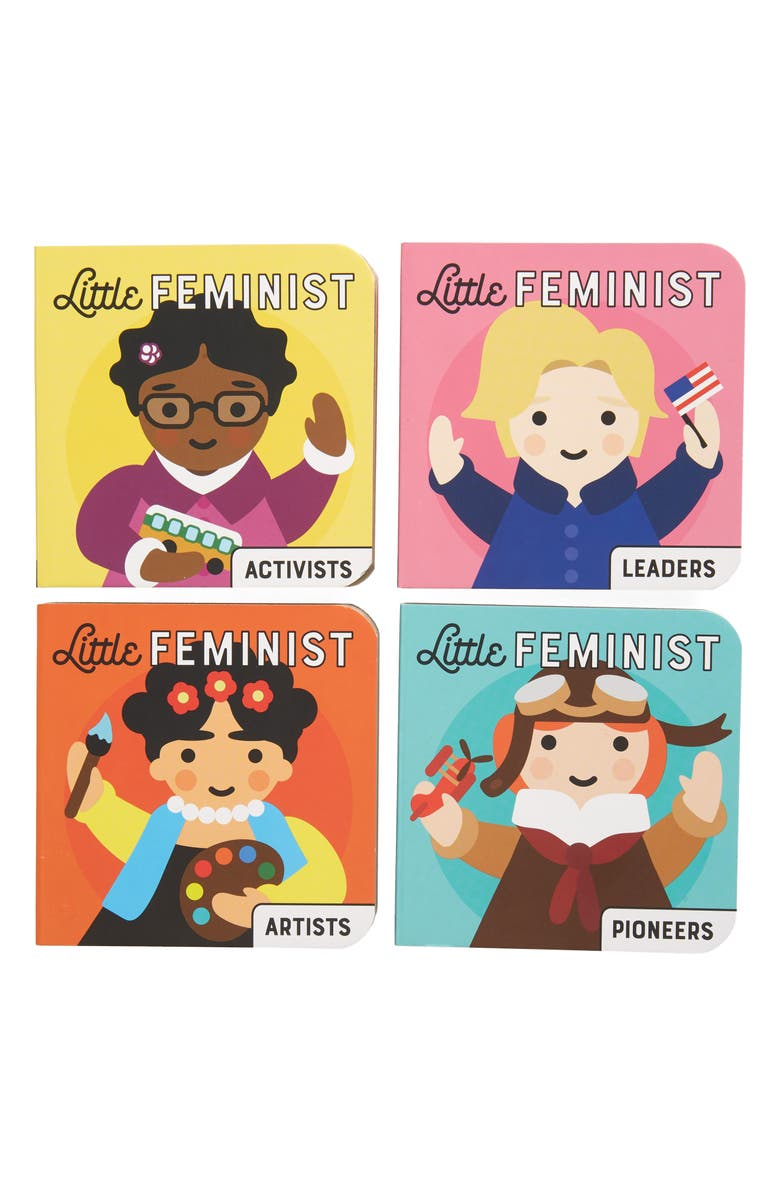 CHRONICLE BOOKS 'Little Feminist' Board Book Set, Main, color, MULTI