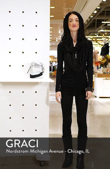 Murphy Metallic Leather Crossbody Bag, sales video thumbnail