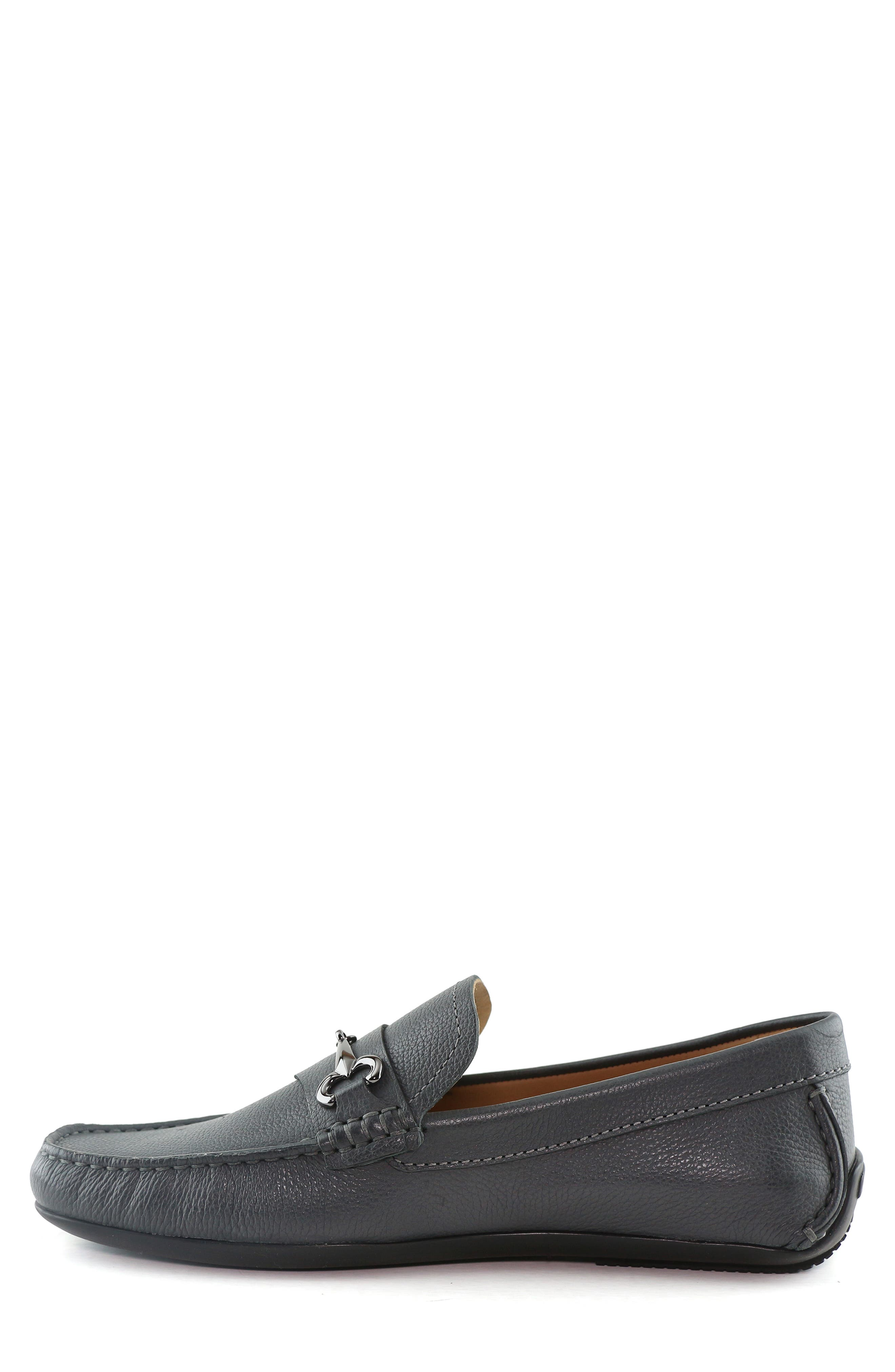 ,                             Wall Street Driving Shoe,                             Alternate thumbnail 9, color,                             GREY LEATHER