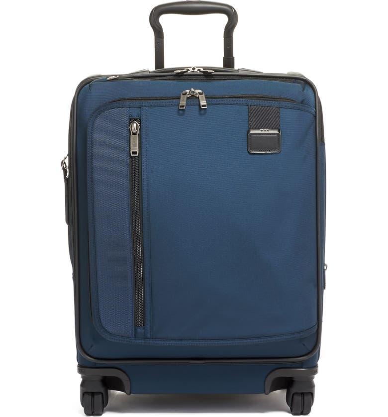 TUMI Merge 22-Inch Continental Expandable Rolling Carry-On, Main, color, NAVY