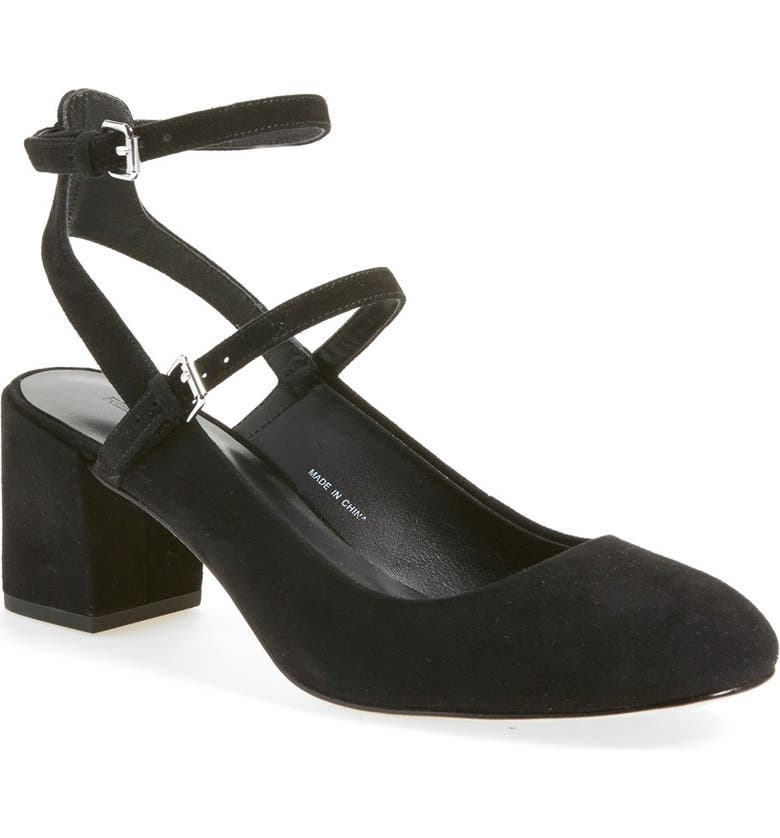 REBECCA MINKOFF 'Brooke' Ankle Strap Pump, Main, color, 001
