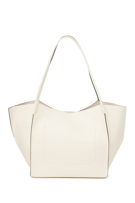 Image of Donna Karan Columbus Large Leather Tote