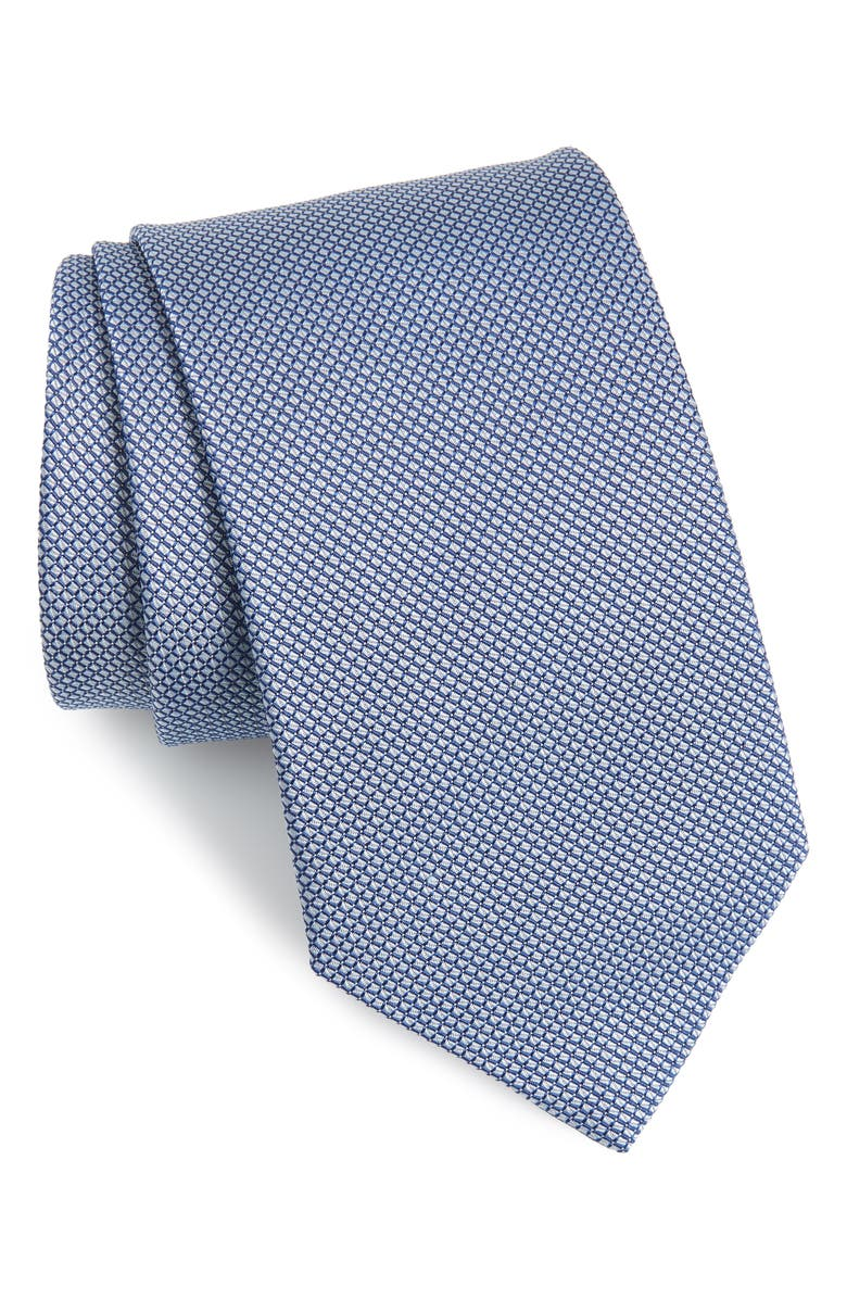 ETON Solid Silk Tie, Main, color, 400