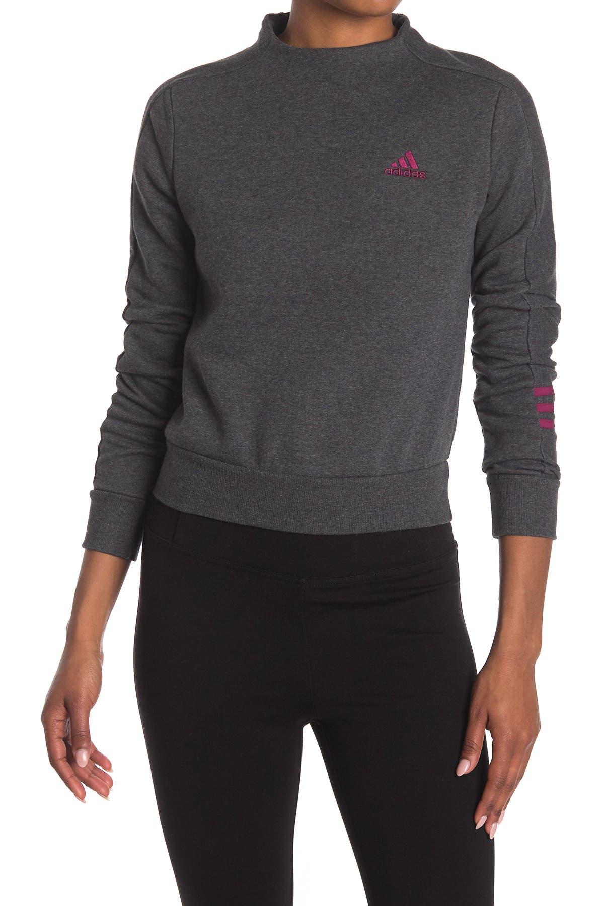 Image of adidas Comfort Fleece Back Zip Sweatshirt