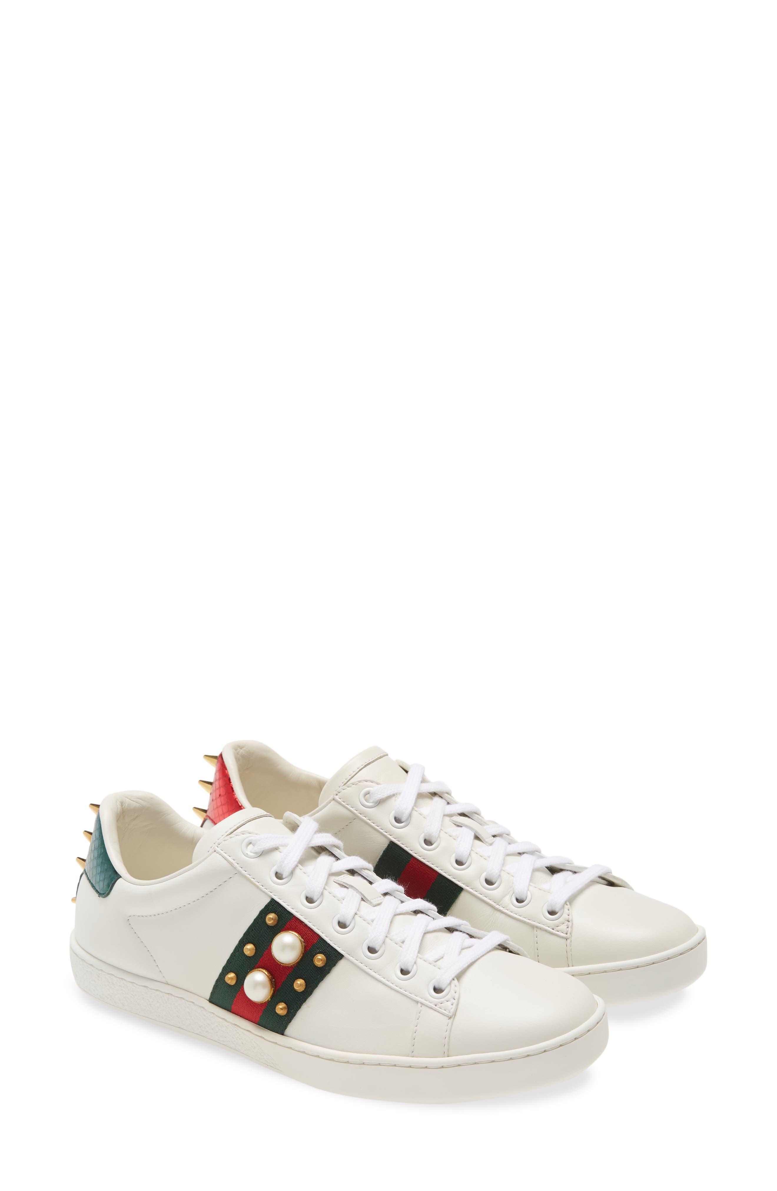 Gucci New Ace Low Top Sneaker (Women