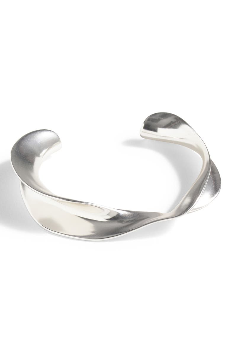 J.CREW Metal Twist Cuff, Main, color, 040