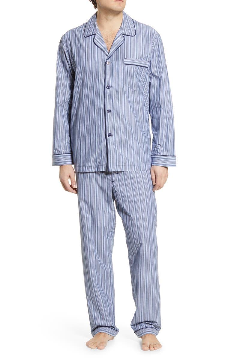 MAJESTIC INTERNATIONAL Bedford Cotton Pajamas, Main, color, 409