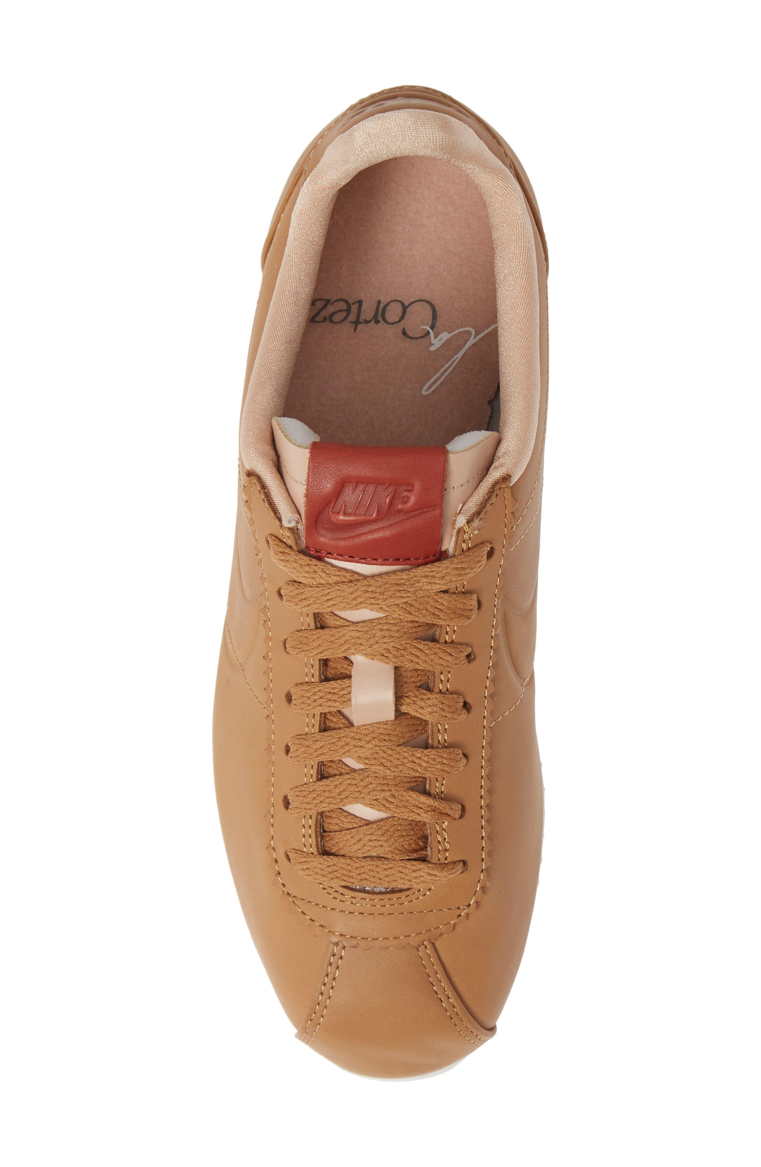 ,                             LA Cortez x Maria Sharapova Premium Sneaker,                             Alternate thumbnail 5, color,                             200