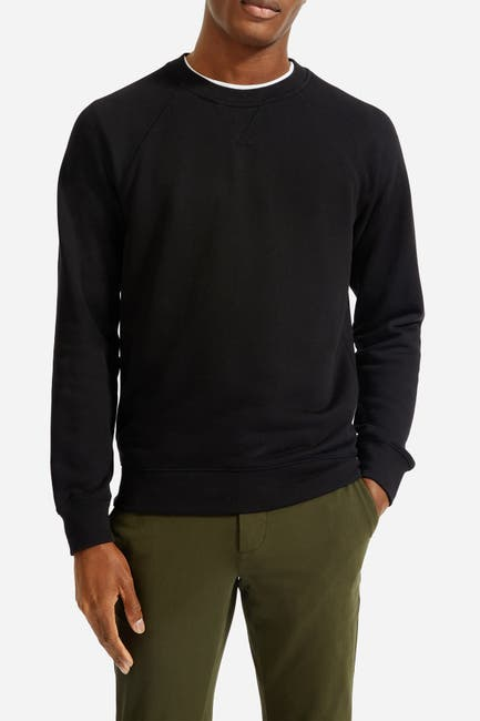 Image of EVERLANE French Terry Crew Neck Sweatshirt