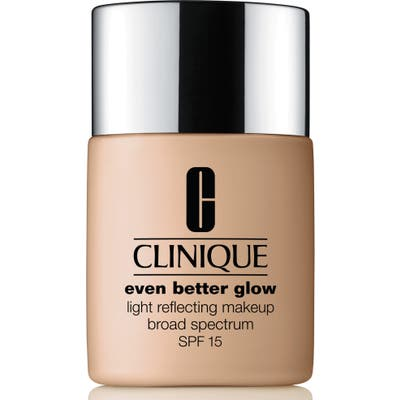 Clinique Even Better Glow Light Reflecting Makeup Broad Spectrum Spf 15 - 38 Stone