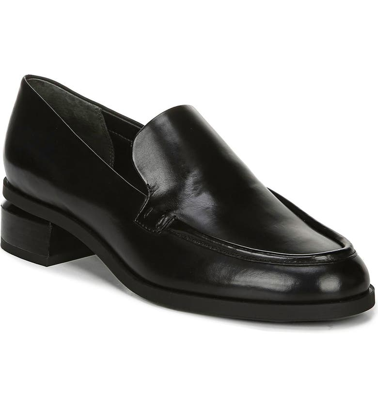 FRANCO SARTO Newbocca Loafer, Main, color, BLACK LEATHER