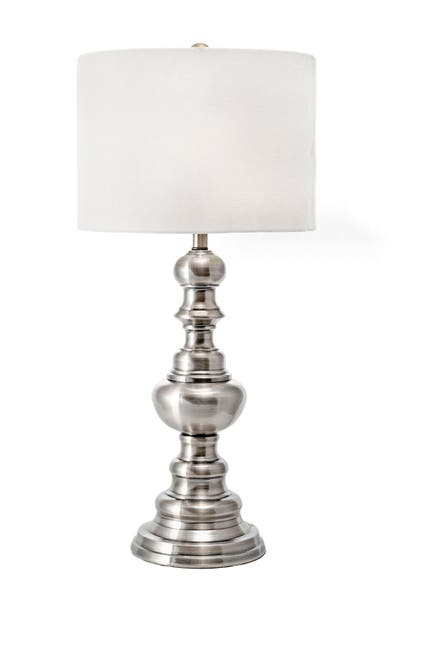 """Image of nuLOOM Silver Caribou 28"""" Metal Table Lamp"""