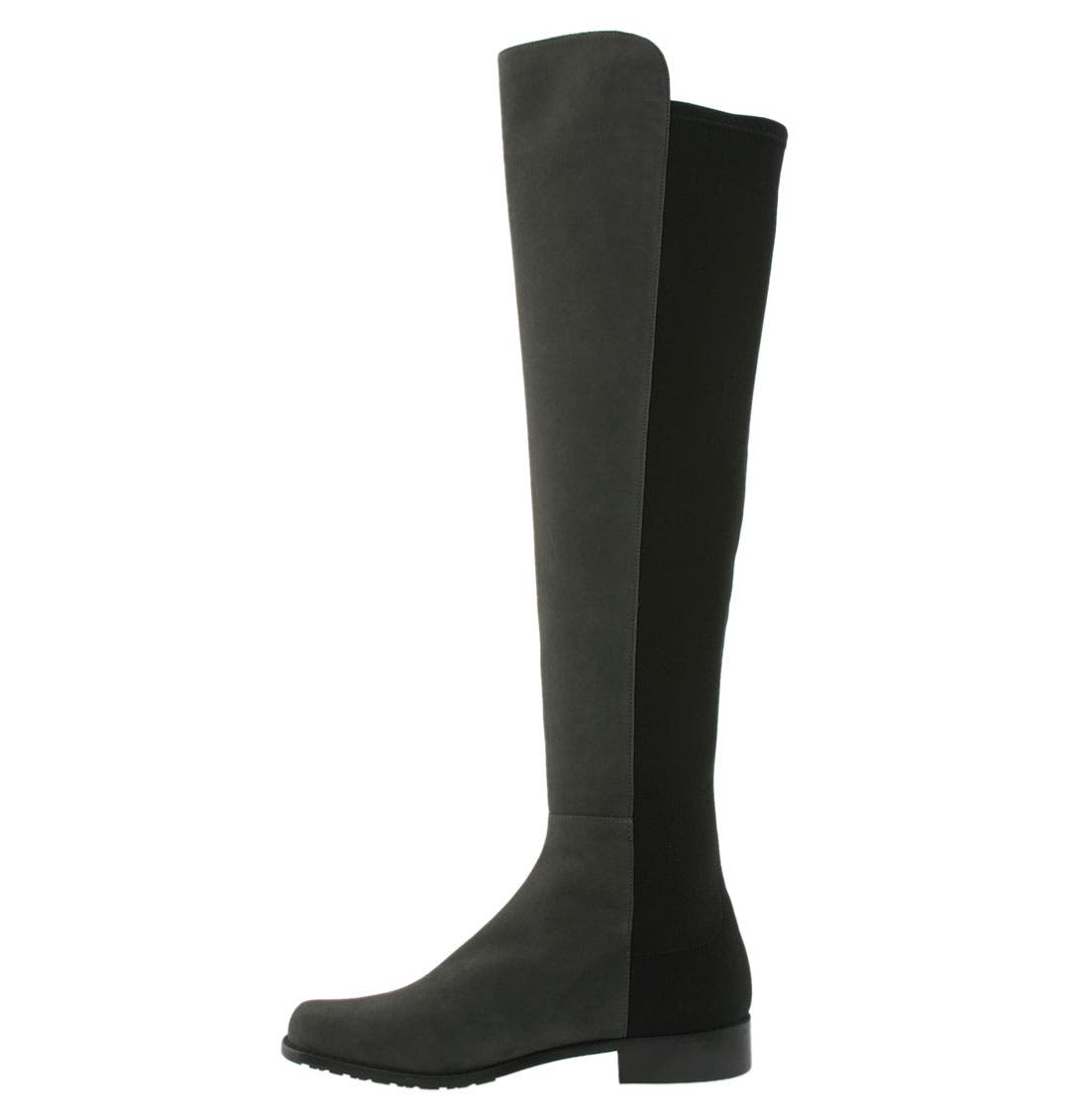 ,                             5050 Over the Knee Leather Boot,                             Alternate thumbnail 18, color,                             030