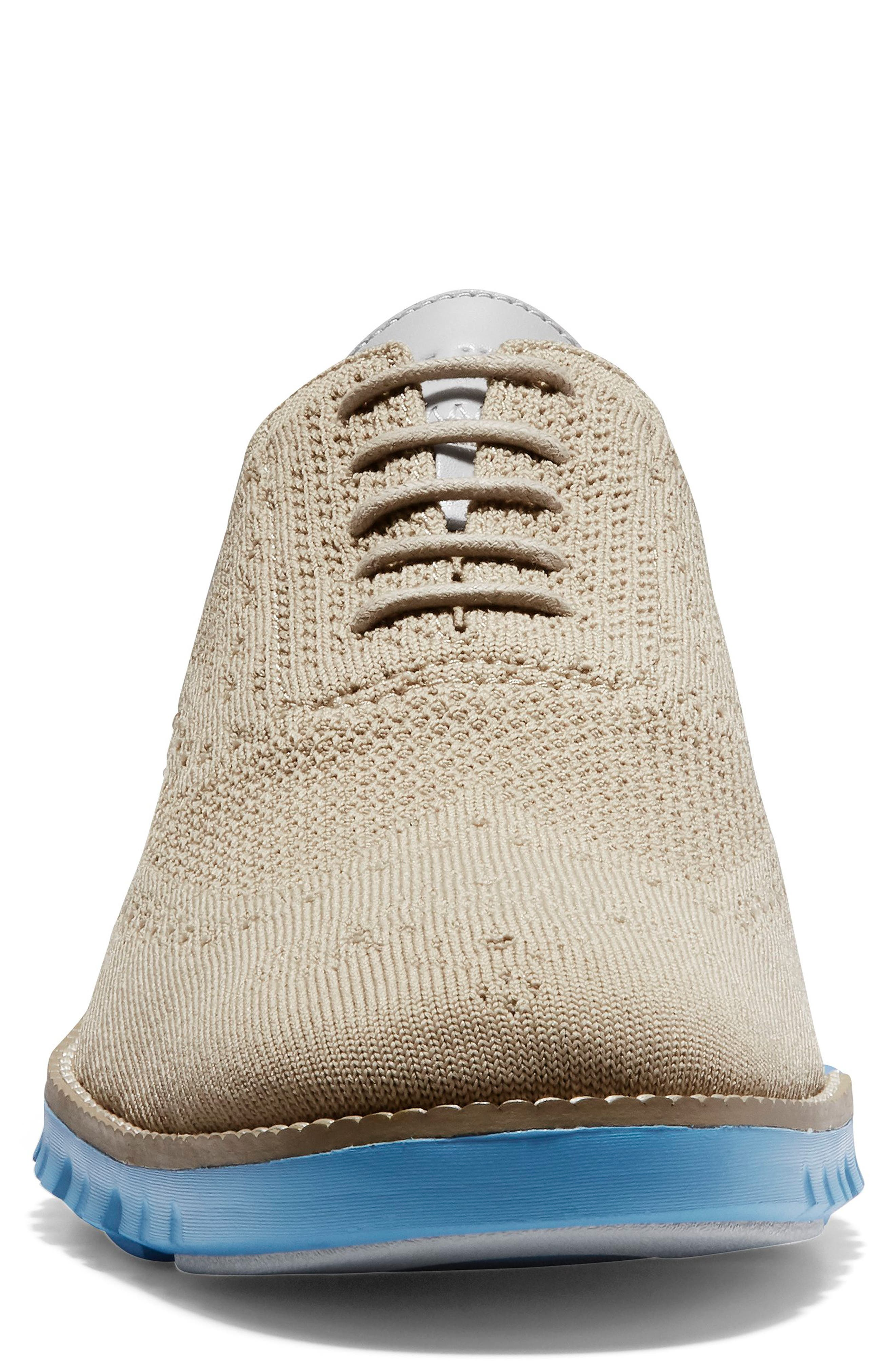 ,                             ZeroGrand Stitch-lite Wingtip Oxford,                             Alternate thumbnail 4, color,                             HAWTHORN/ PACIFIC
