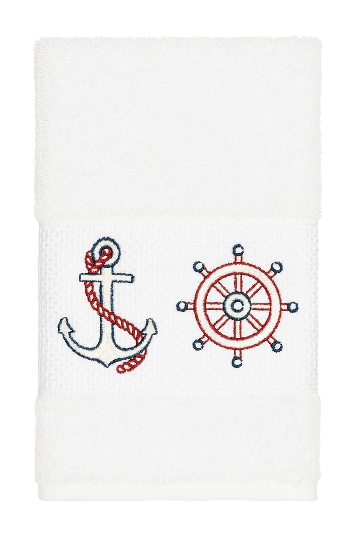 Linum Home Towels EASTON EMBELLISHED HAND TOWEL