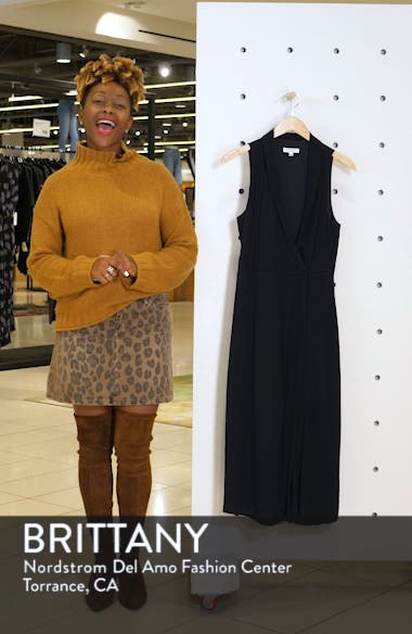Katherine Wrap Midi Dress, sales video thumbnail