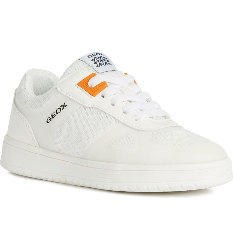 GEOX Kommodor 9 Sneaker, Main, color, WHITE