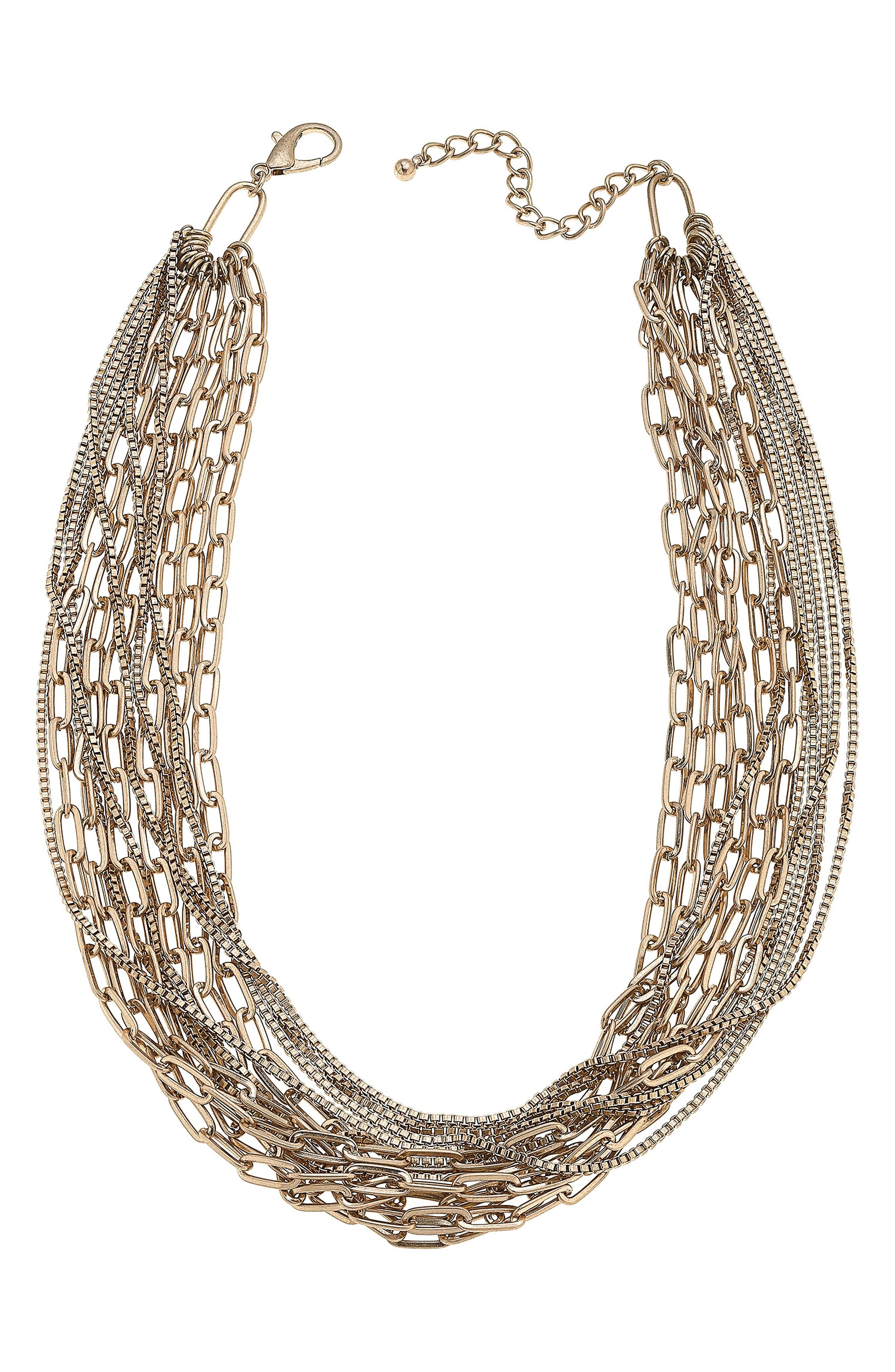 Soren Layered Chain Necklace