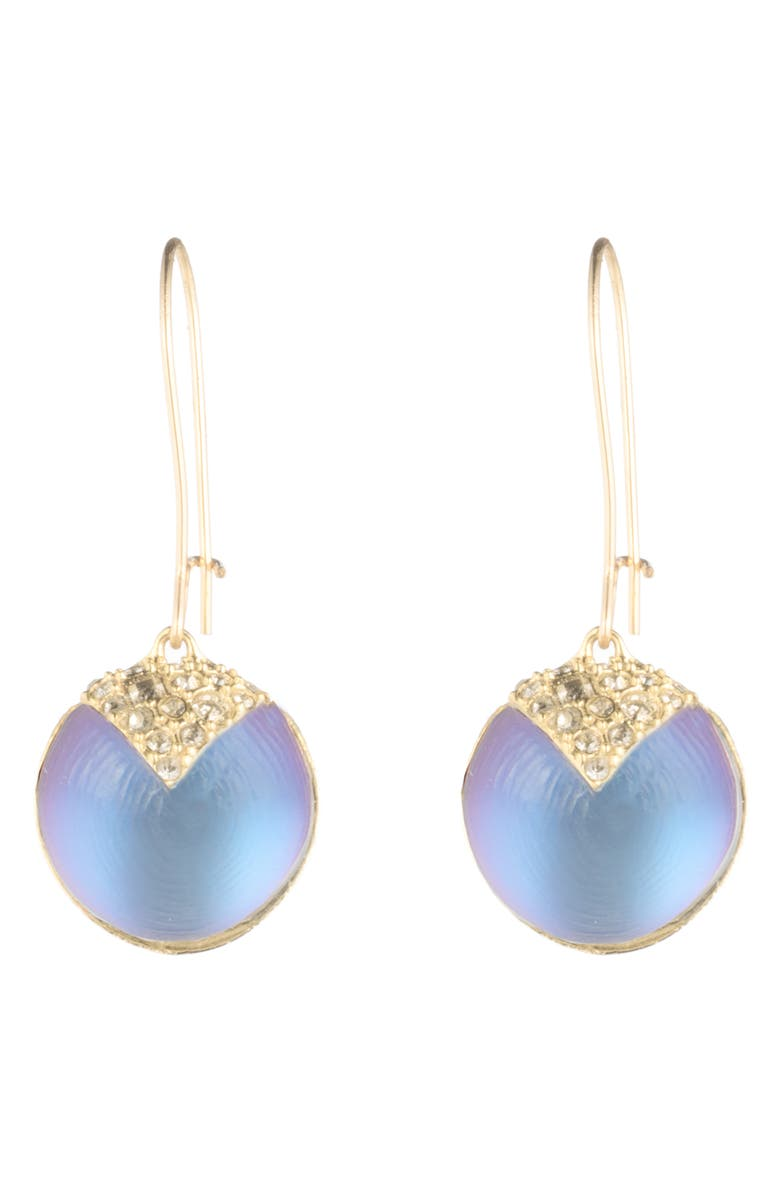 ALEXIS BITTAR Crystal Encrusted Lucite<sup>®</sup> Drop Earrings, Main, color, 400