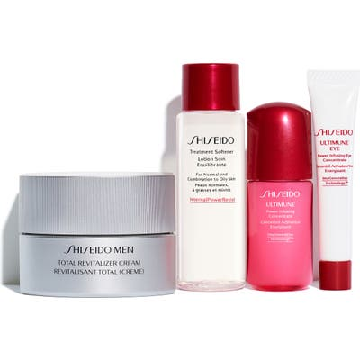 Shiseido Skin Care Essentials Set
