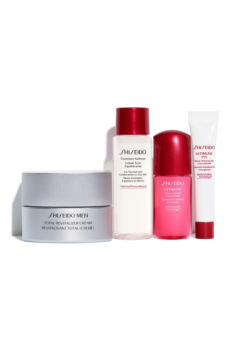 SHISEIDO Men's Skin Care Essentials Set, Main, color, 000