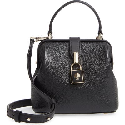 Kate Spade New York Small Remedy Leather Top Handle Bag - Black