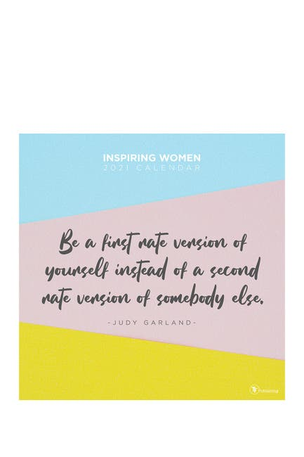 Image of TF Publishing 2021 365 Inspiring Women Wall Calendar