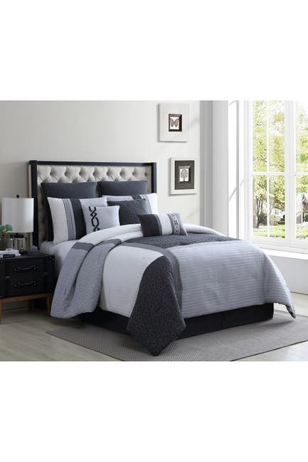Piece Queen Size Comforter Set, English Laundry Bedding