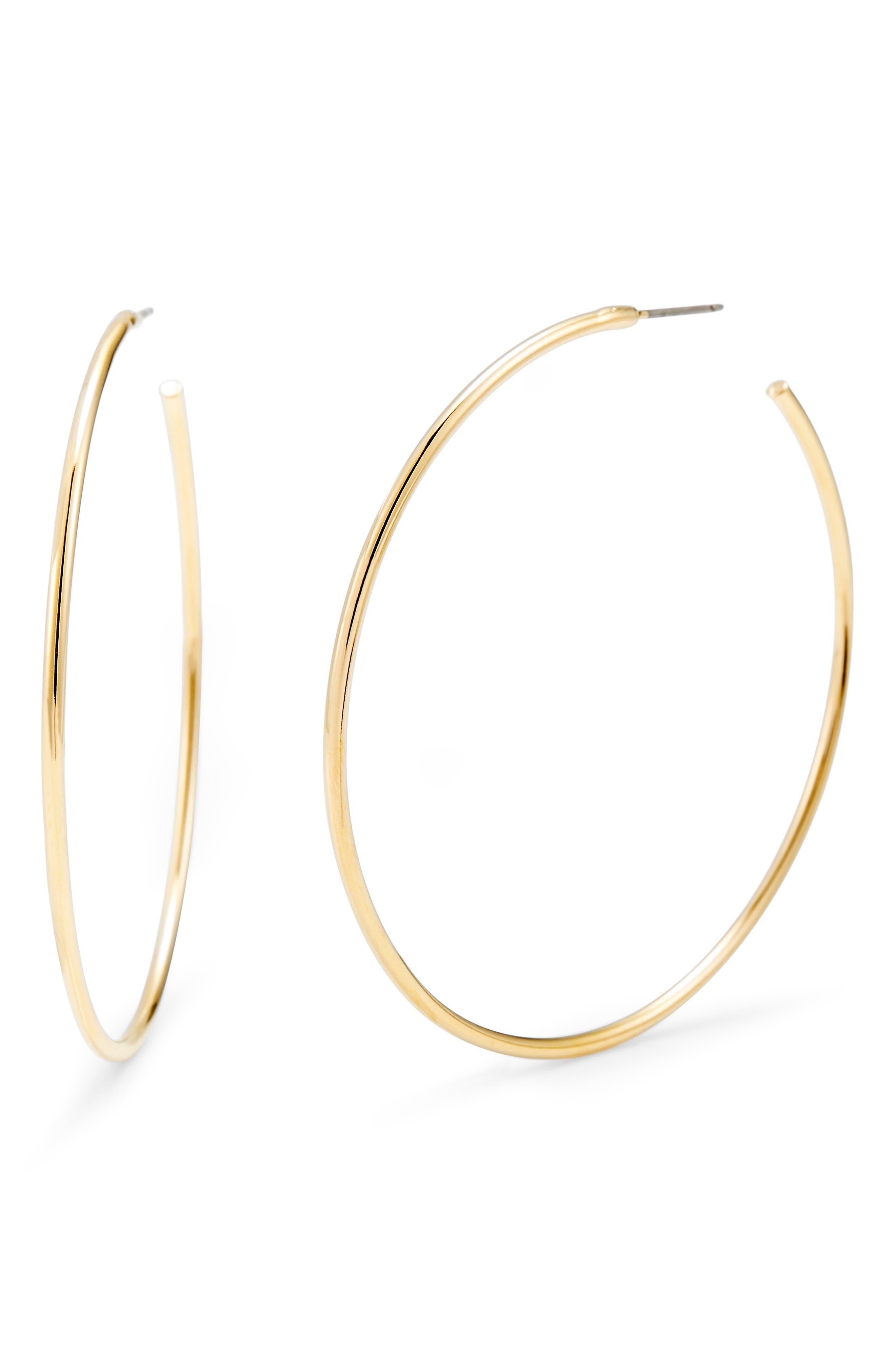 Hayley Hoop Earrings