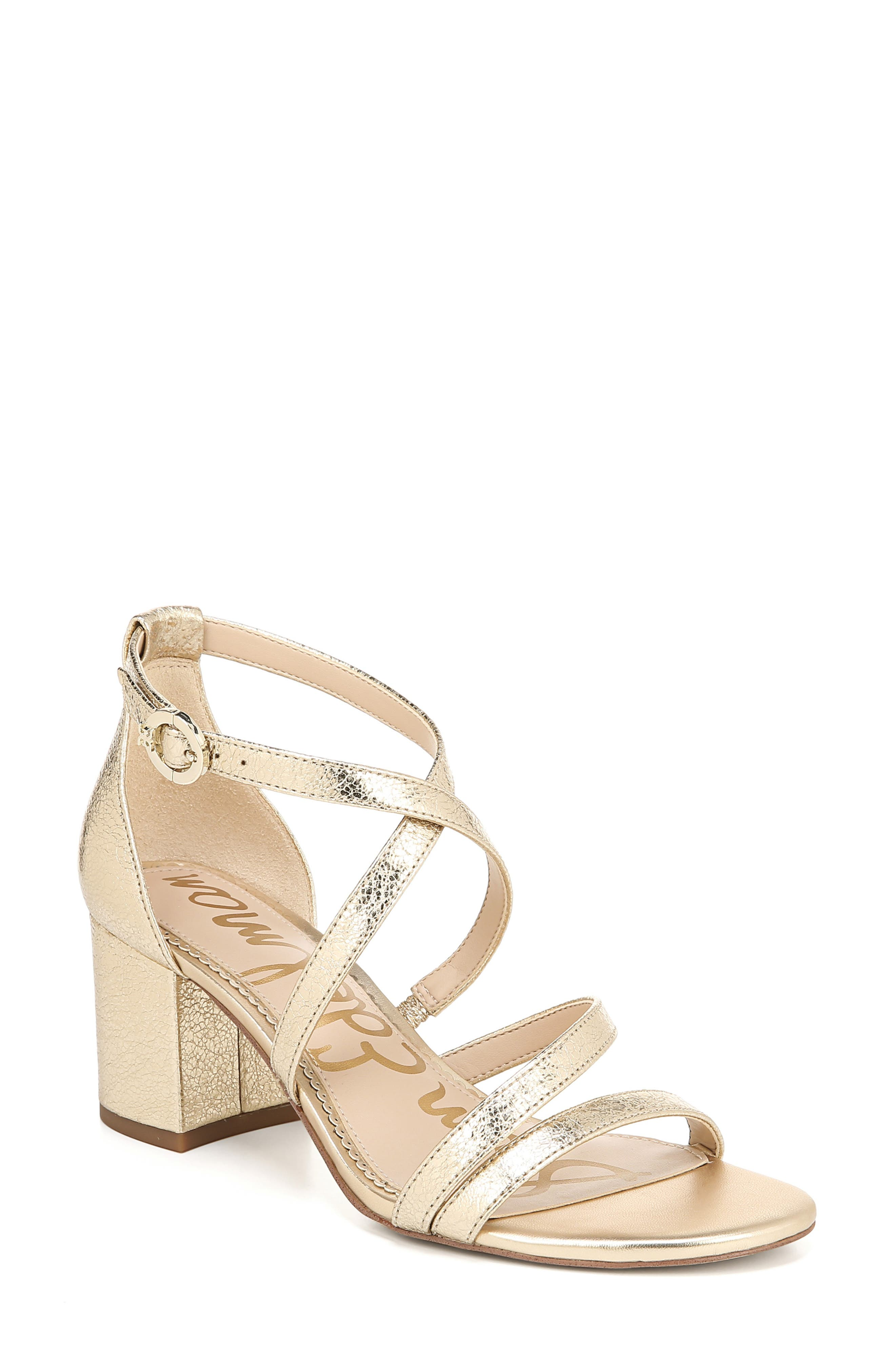 Sam Edelman Stacie Sandal- Metallic