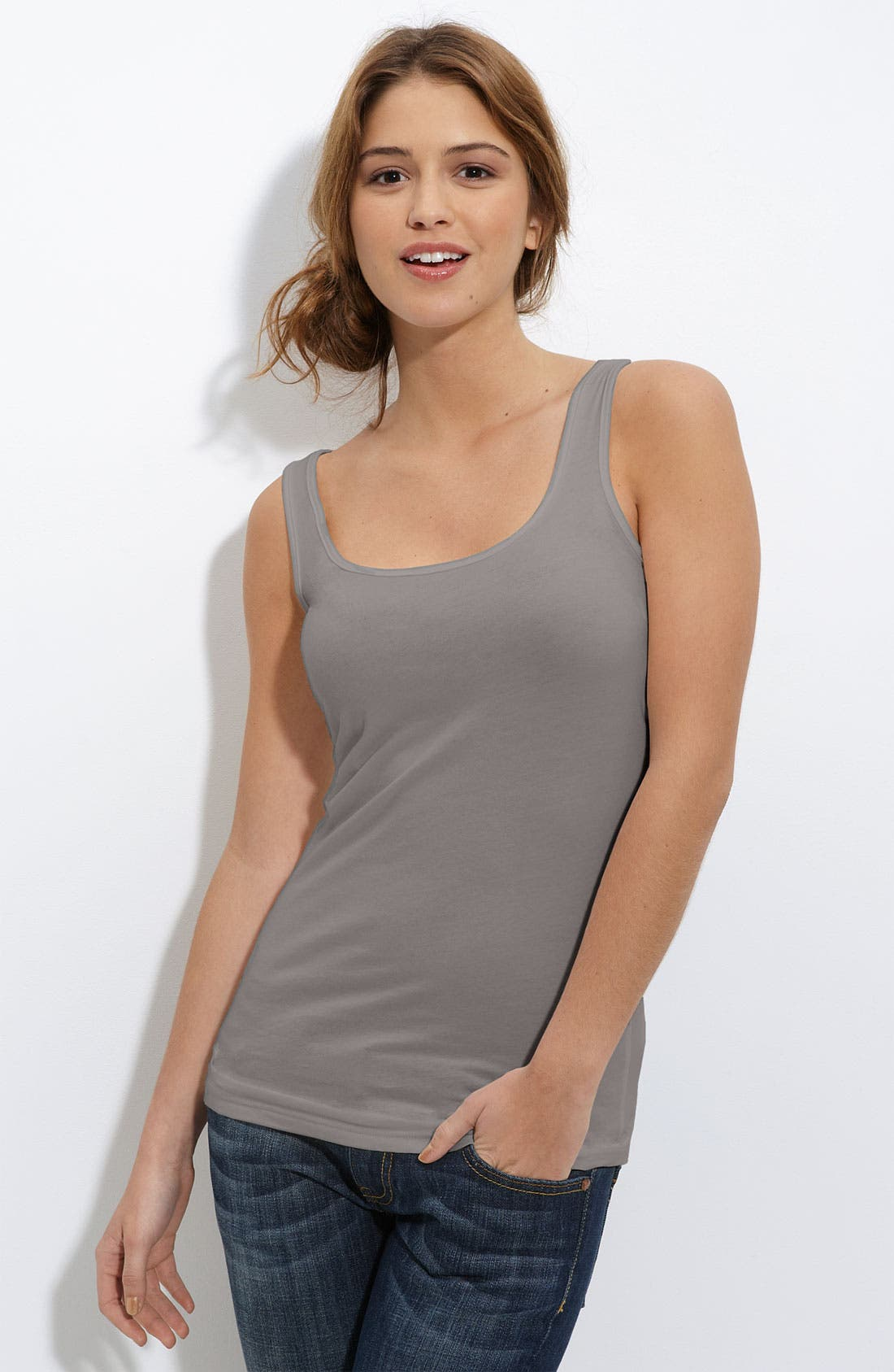 ,                             Double Scoop Neck Tank,                             Main thumbnail 49, color,                             020