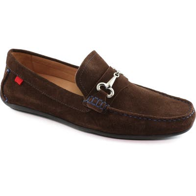 Marc Joseph New York Wall Street Driving Shoe, Brown