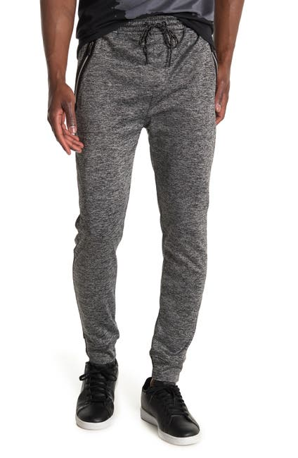 Image of Burnside Houndstooth Fleece Drawstring Pants