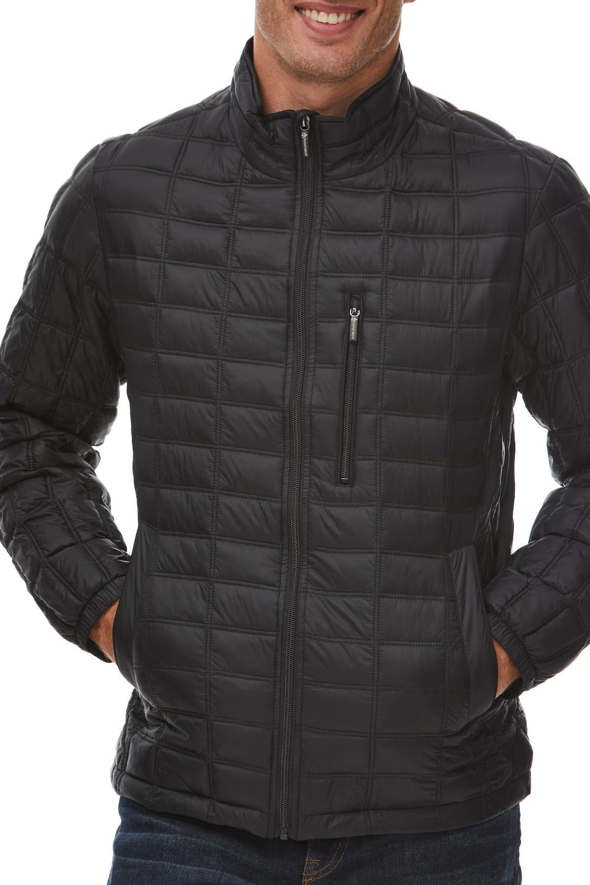 Image of Rainforest Box Quilted Thermoluxe Puffer Jacket