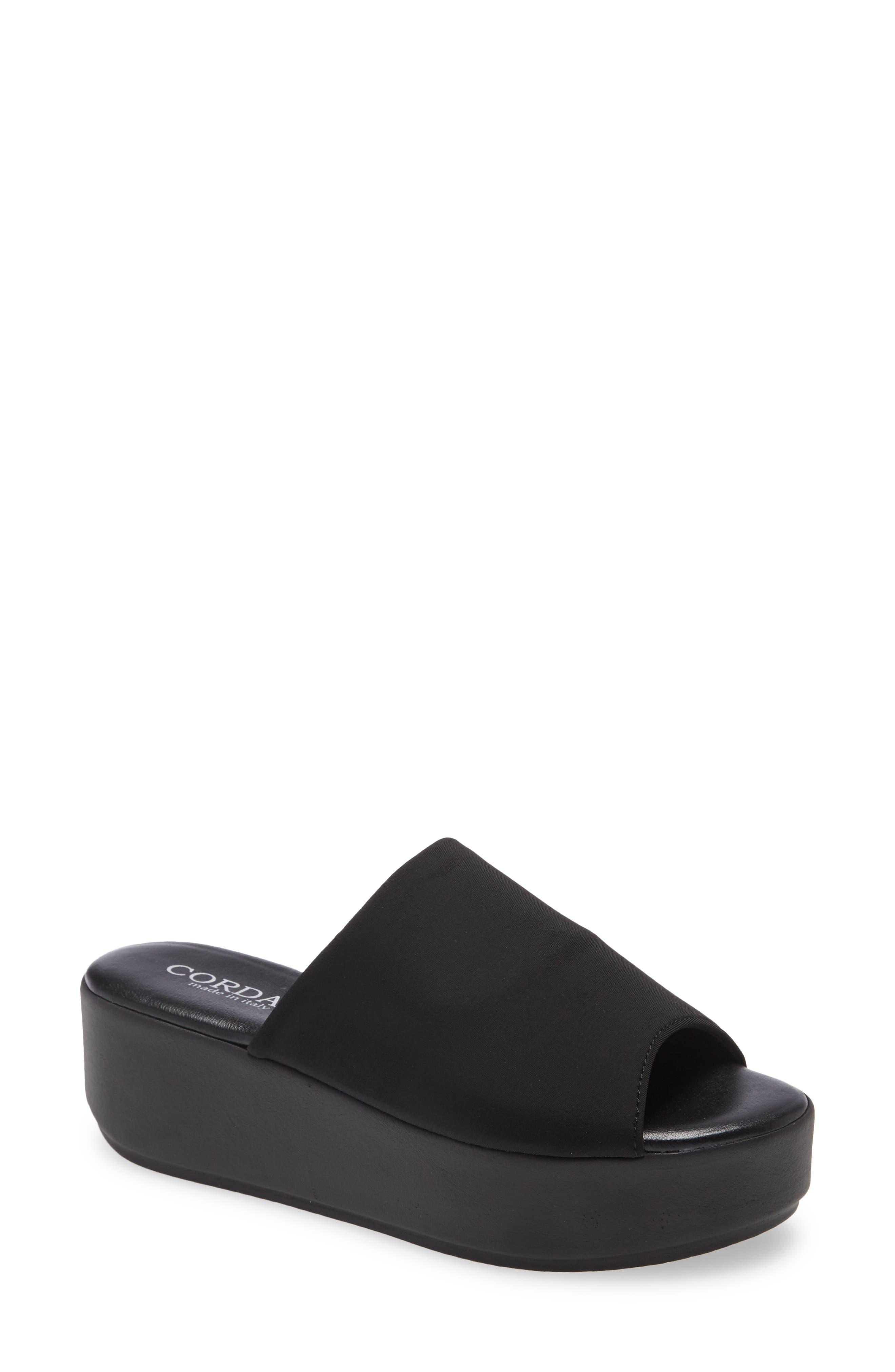 Jessa Platform Slide Sandal
