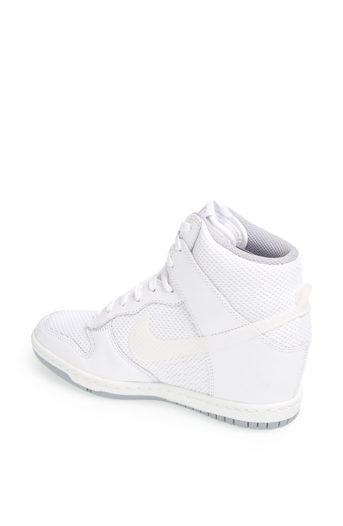 ,                             'Dunk Sky Hi - Essential' Wedge Sneaker,                             Alternate thumbnail 33, color,                             100