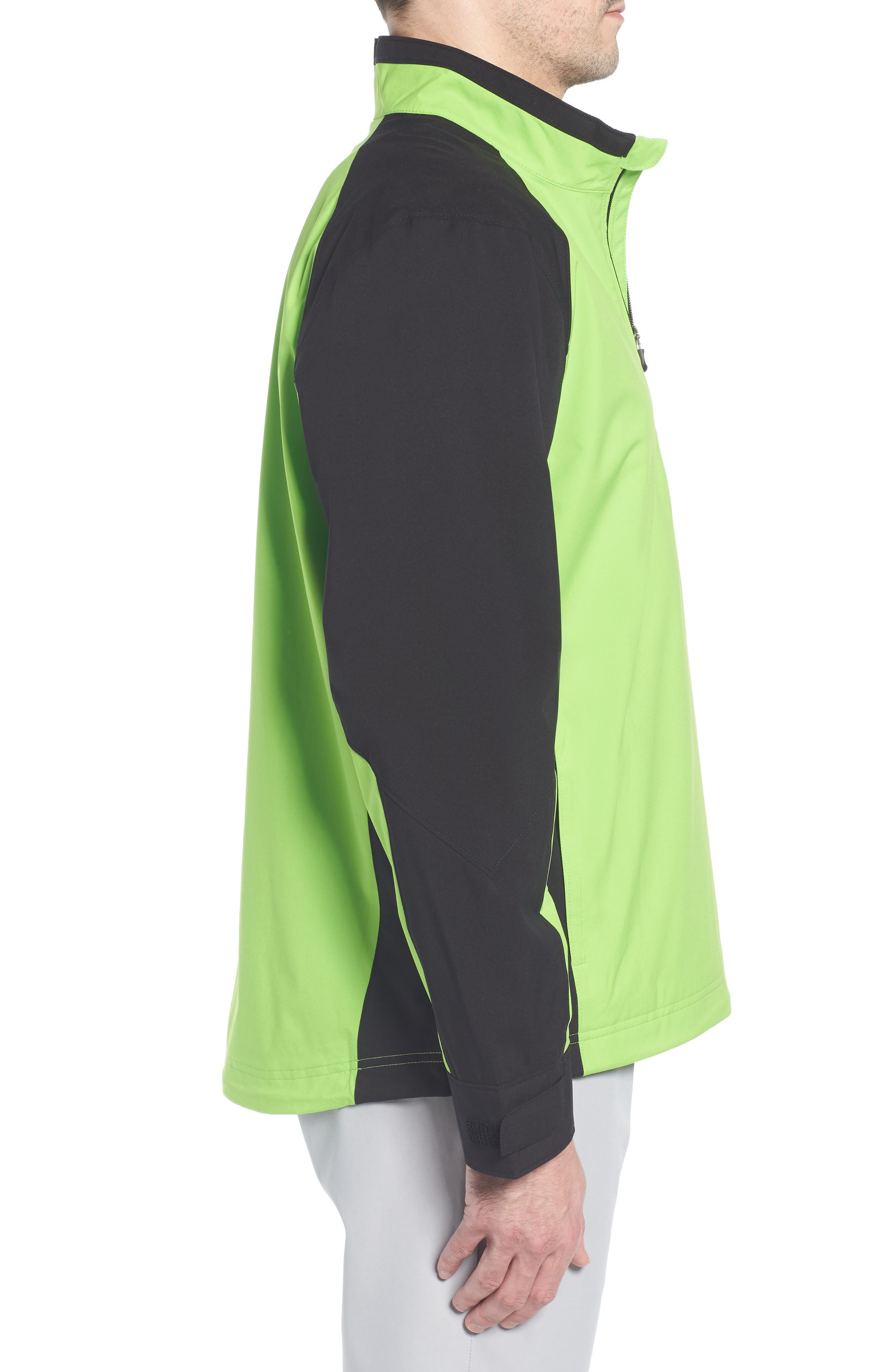 ,                             'Summit' WeatherTec Wind & Water Resistant Half Zip Jacket,                             Alternate thumbnail 3, color,                             321