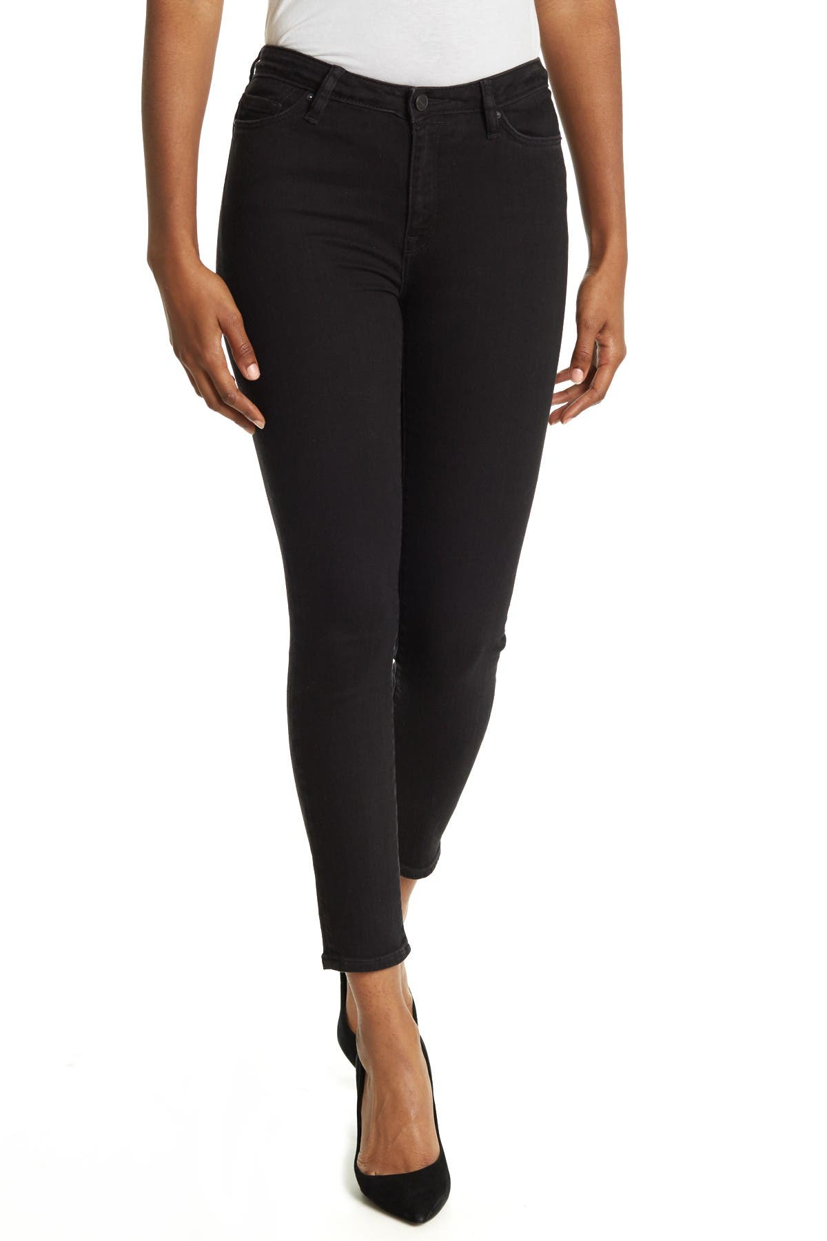 Image of ALLSAINTS Eve High Waisted Ankle Skinny Jeans