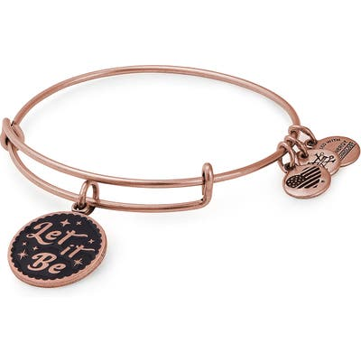 Alex And Ani Let It Be Adjustable Wire Bangle