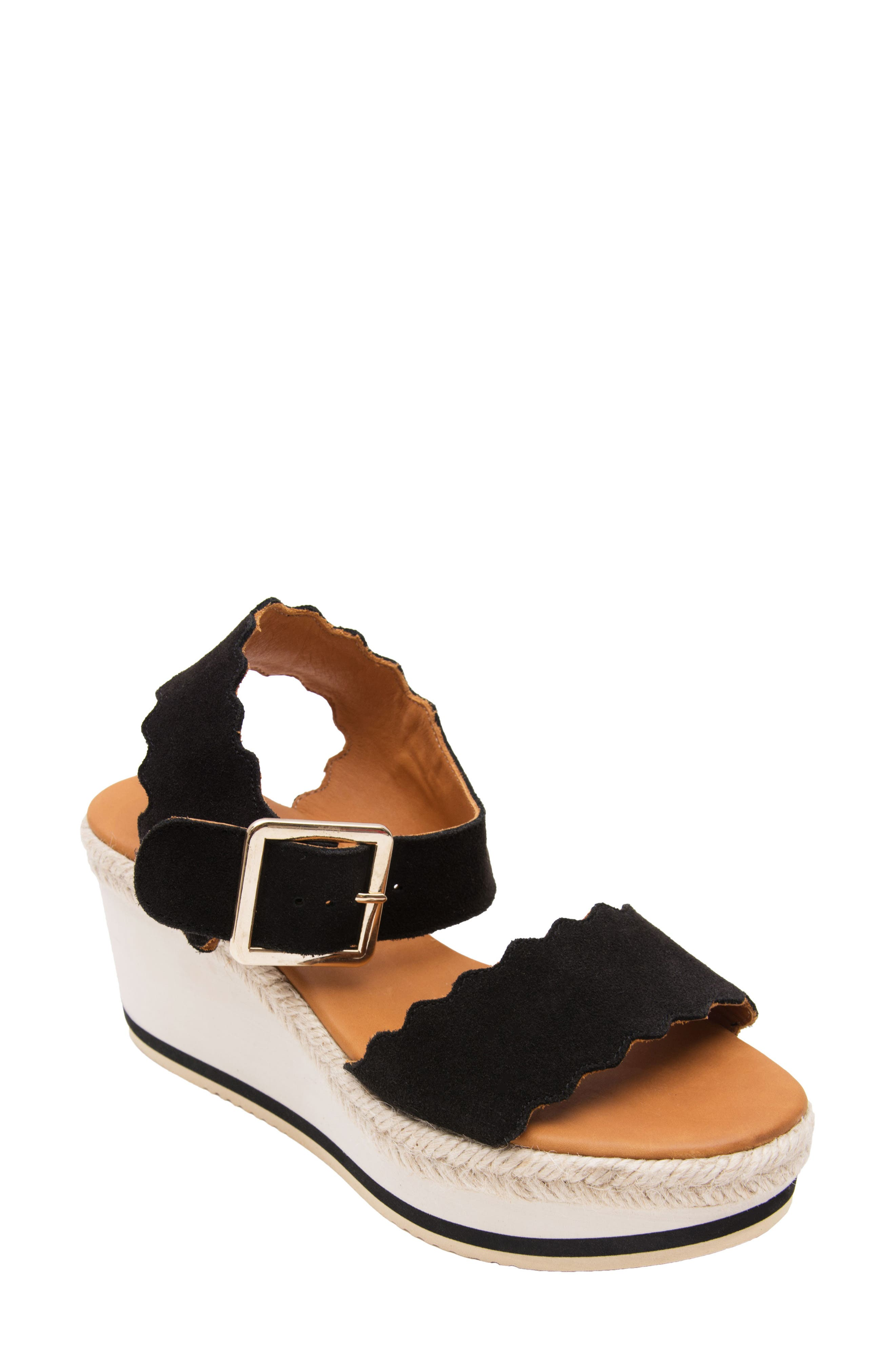 Carla Espadrille Wedge Platform Sandal