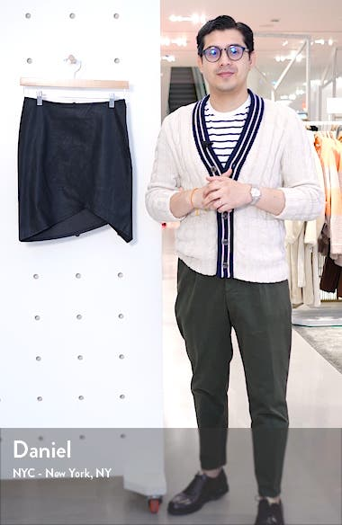 Party Asymmetrical Leather Skirt, sales video thumbnail