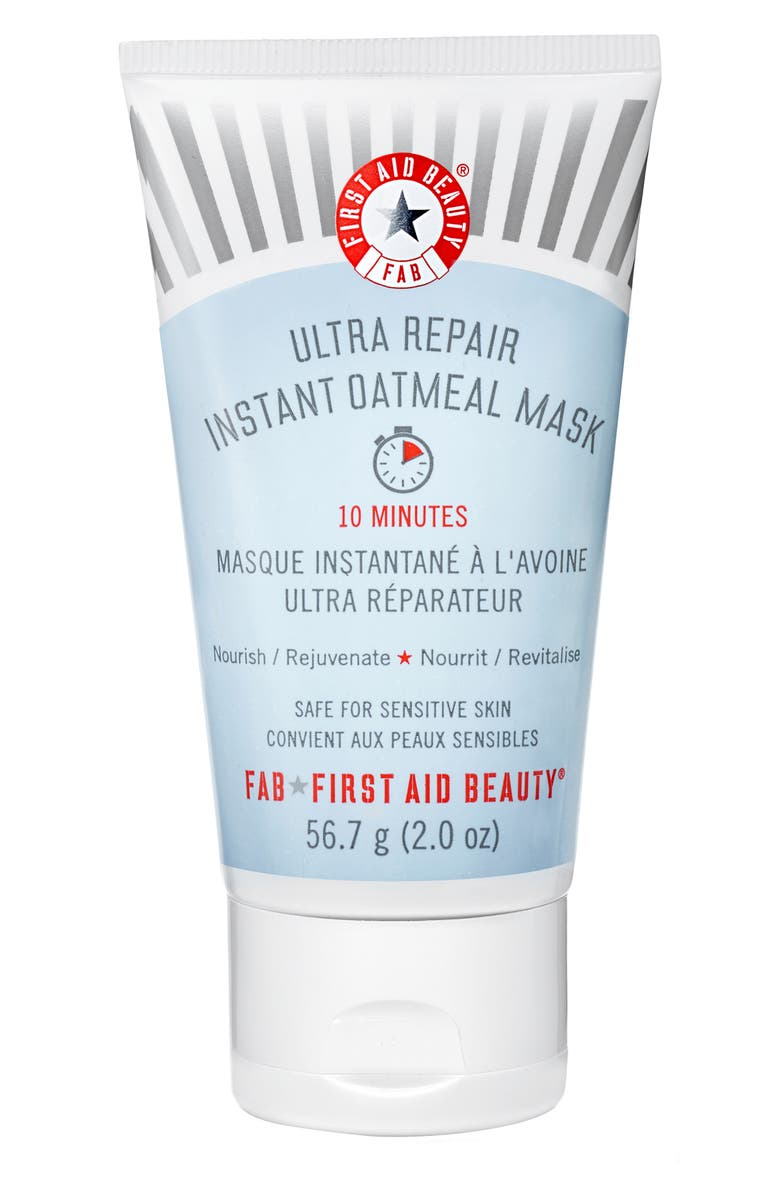 FIRST AID BEAUTY Ultra Repair Instant Oatmeal Mask, Main, color, NO COLOR