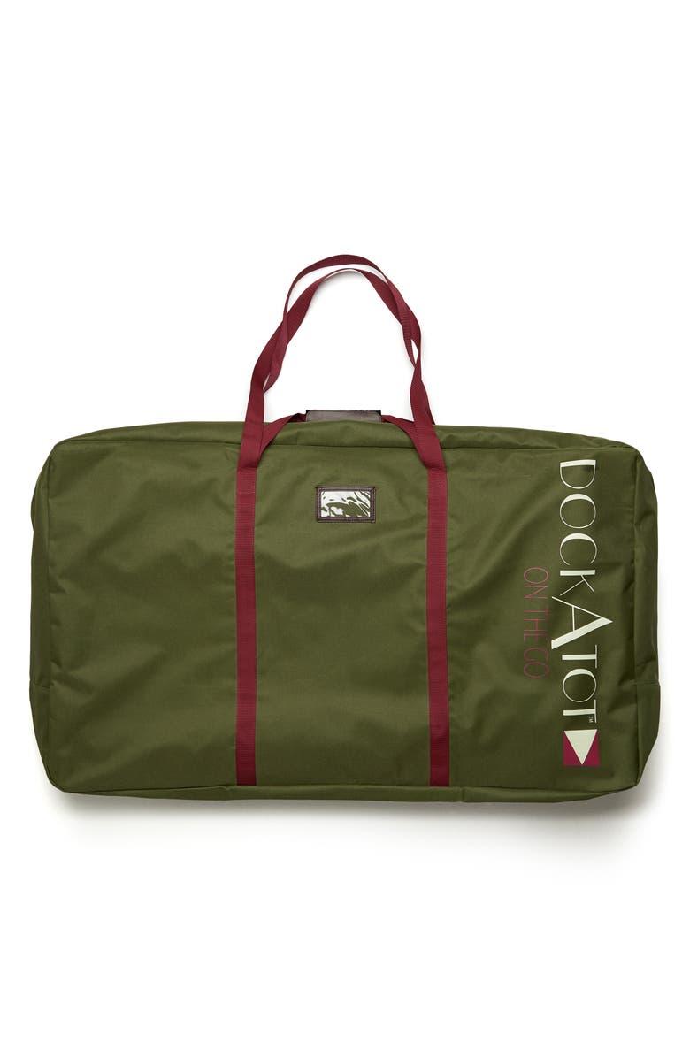 DOCKATOT Grand Transport Bag, Main, color, MOSS GREEN
