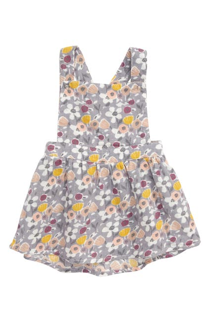 Image of PEEK ESSENTIALS Lucille Floral Pinafore Dress