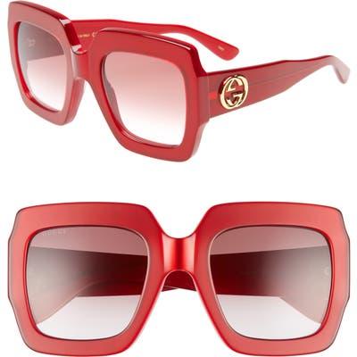 Gucci 5m Square Sunglasses -