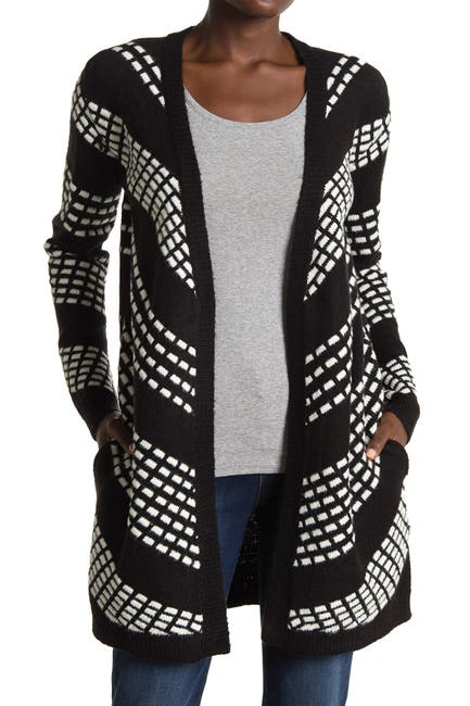 Image of Love by Design Tyro Contrast Stitch Cardigan